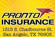 pronto insurance 1315 s chadbourne st san angelo tx 76903 pronto insurance