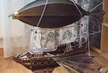 Воздушный шар люстры