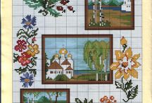 cross stitch miniatures....