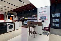 Elektronik Mağazası Dekorasyonu / http://www.5tasarim.com/elektronik-magazasi-dekorasyonu/