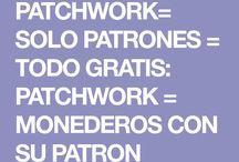 patrones pachwork