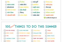 summer list / inspirations