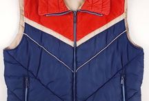 vintage vest puffer