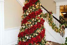 Vianočný STROMČEK zdobenie kvetmi