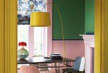 Colourful decor