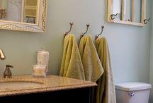 Bathroom ideas / by Heather Keefer