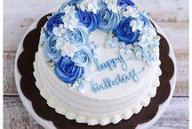 Happy birthday wish cakes