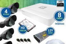 Kits para monitoramento CFTV