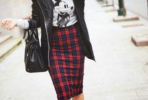 Look faldas