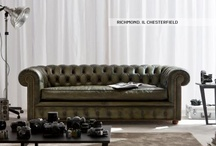 CHESTERFIELD SOFAS / The Chesterfield sofa just like in the 17th century. By Berto's artisans of the Brianza region, in Italy.