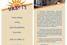 Esitteet / VÄLKE RY:n esitteitä.