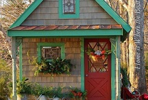Cottage Dreams / All about my cottage dreams. See also bedroom, lighting, bathroom, laundry, living small, lighting, home decor, organizing, and kitchen boards. / by Gina Ritter