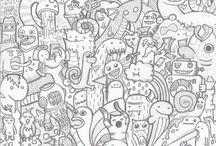 Tegne inspirasjon / Inspirasjon når jeg vil tegne