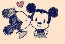 Zuzia Stanaszek / Mickey mouse & minnie