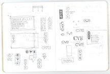 carnet de croquis de designers
