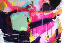 Abstract Paintings...