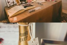 Wedding Guest Book Ideas / Ask your wedding guests to leave their mark with these creative and unique wedding guest book ideas. From message in a bottle themes to fingerprint trees, this MODwedding Pinterest board has it all.