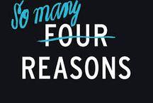 Four Reasons / Four Reasons is een complete lijn van trendy producten voor de verzorging, styling en finishing van het haar. De producten zijn ontwikkeld door de top van professionals uit de haarindustrie en zijn uitermate geschikt voor alle Europese haartypen. De productlijn bevat natuurlijke, intensief verzorgende ingrediënten.