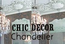 Chic Decor- Chandeliers / Chic Decor// Chandelier http://www.missesdressy.com/blog/forever-chic-chandelier-decor.html