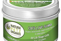 Cats Love Suma - Nutritional Health Topper / Nutritional, organic health topper for cats, formulated to bring all body systems into balance to help optimize health  Cats Love Suma works to address nutritional deficiencies and exerts a rejuvenating and restorative effect to bring all body systems into balance, with special emphasis placed on endocrine, nervous, digestive, cardiovascular, immune and reproductive system functions.