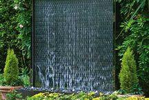 Garden Water Walls
