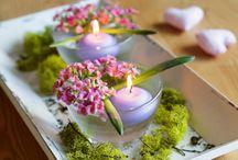 Svícny/ candle / Máte rádi svíčky? Pokud ano, vyrobte si vlastní originální svícny. Vše potřebné jistě najdete doma.