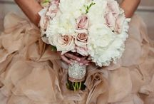 Soft pink and white / Wedding flowers