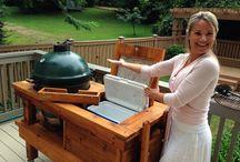 BBQ and outdoor kitchens/ BBQ en buitenkeukens