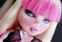 doll repaints & customs