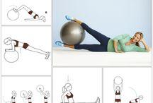 Fitness mit Ball