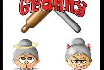 Granny / Una nonnina tutto pepe!!