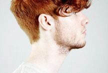Hombres: pelo rizado / Men: curly hair