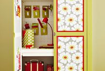 Home - Craft room / by Tiina