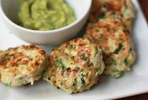 Chicken zucchini poppers