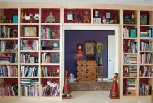 Bookcases ideas for lounge
