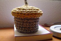Artesanía ecológica / Mis creaciones artísticas en crochet o ganchillo