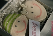Oh Baby! Cookie Favors by Sweet Dani B / Baby showers, and Baptisms, and announcements... Oh my! xo