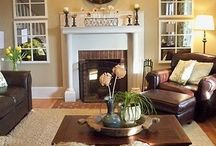 Living Room / by Jennifer Kirlin | BellaGrey Designs
