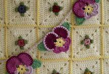 Crochet - Flowers, Plants, Fruits, Leaves