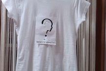 In arrivo la t-shirt who's vanity? / t-shirt in puro cotone logata