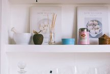 {home} shelfie / Ideas for styling a shelfie for every room in the house!