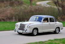 Mercedes-Benz S Class 200/220 Series 1954-1959 / Chassis type W180/182 Also known as Ponton.