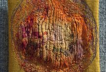 textilní obrazy