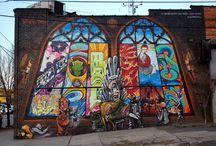 graffiti/street art / by Shayna Elbling