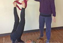 Knitting and Yoga