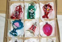 vintage christmas ornament's