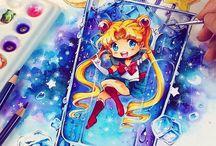 anime w szklance xD