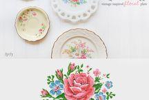 Miniatures plates / Miniature plates