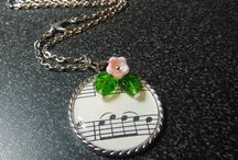 Music Notes Pendant /Necklace