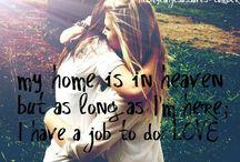 Love / All we need is love, love, Love is all we need.